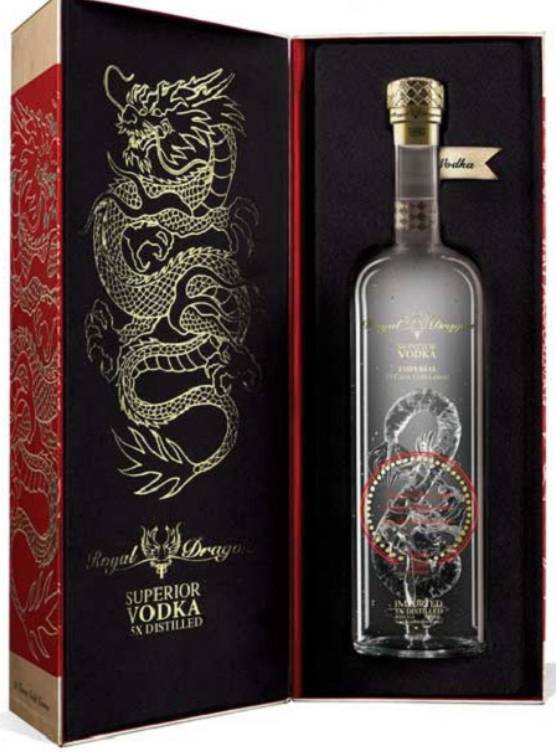 Royal Dragon Royal Dragon Impérial Good Luck Edition Vodka 70CL in Giftbox