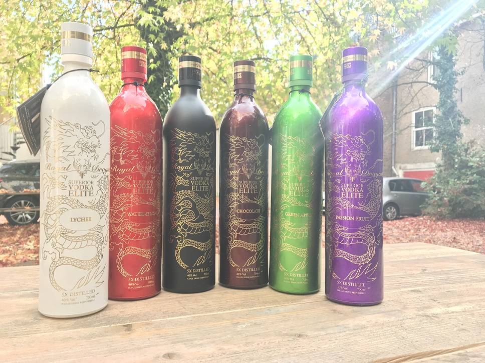 Royal Dragon; een bijzondere vodka die niet mag ontbreken in je collectie