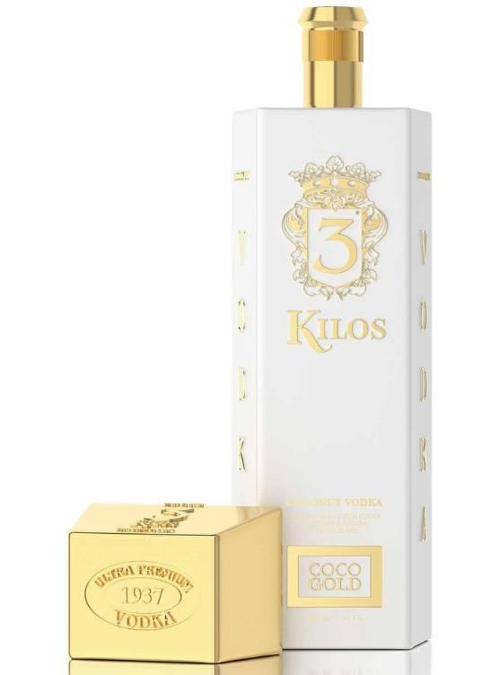 3 Kilos Vodka 3 Kilos Vodka Coco Gold 70CL
