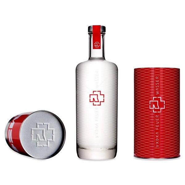 Rammstein Feuer & Wasser Vodka 70CL