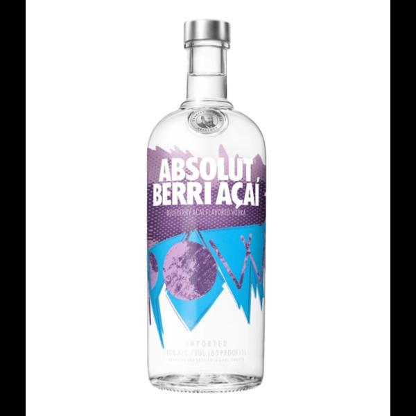 Absolut Acai Berry Vodka 100CL
