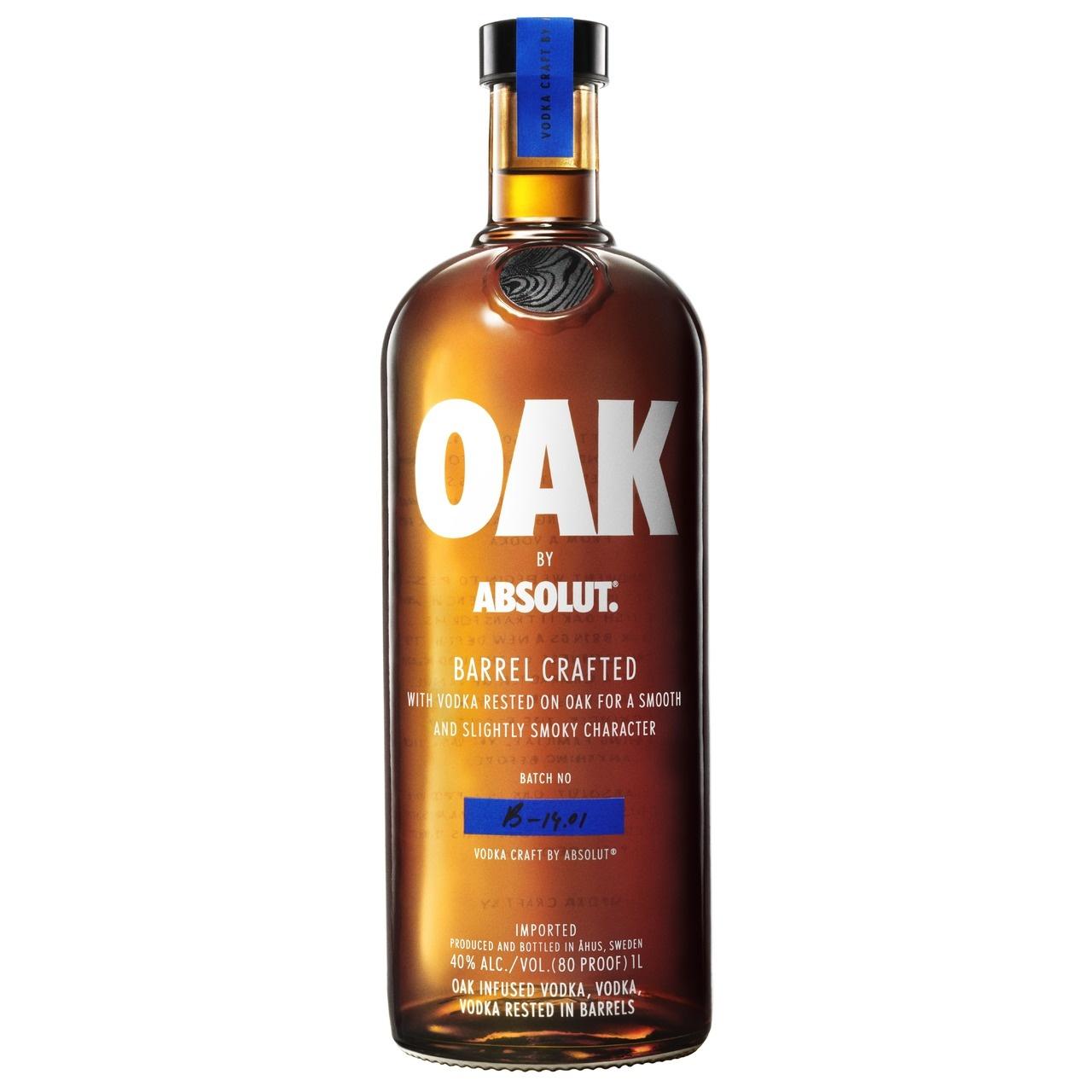 Absolut Absolut Oak Vodka 100CL