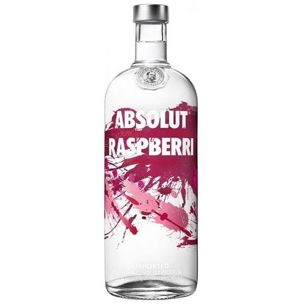 Absolut Raspberri vodka 100CL