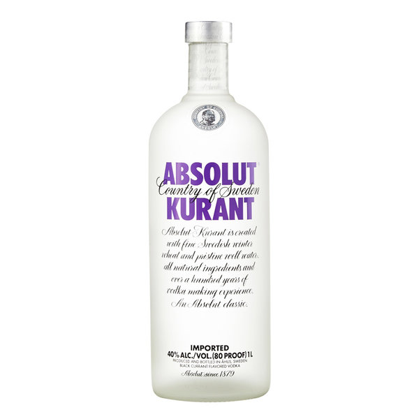Absolut Kurant Vodka 100CL