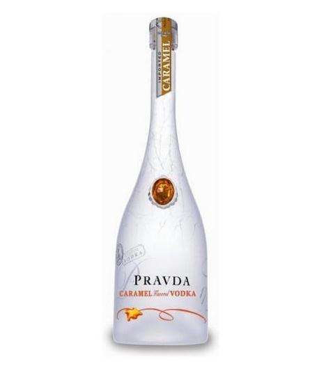 Pravda Pravda Caramel Vodka 70CL