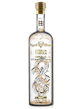 Royal Dragon Imperial Gold Leaf Vodka 1L