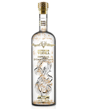 Royal Dragon Imperial Gold Leaf Vodka 1.5L