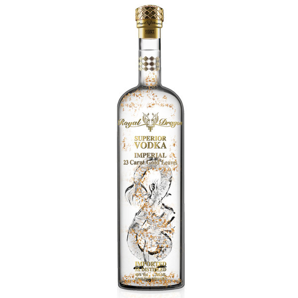 Royal Dragon Imperial Gold Leaf Vodka 6L