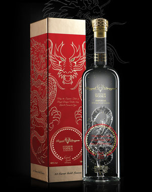 Royal Dragon Impérial Good Luck Edition Vodka 100CL in Giftbox