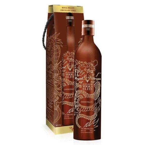 Royal Dragon Royal Dragon Elite Chocolate Vodka 70CL In Box