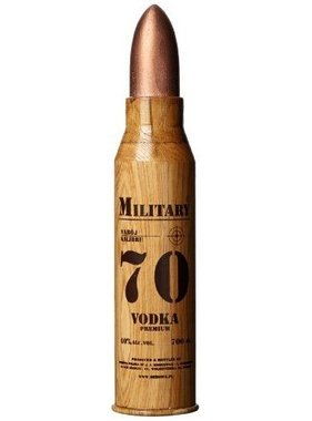 Military Bullet Vodka 70 CL