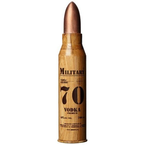 Military Military Bullet Vodka 70 CL