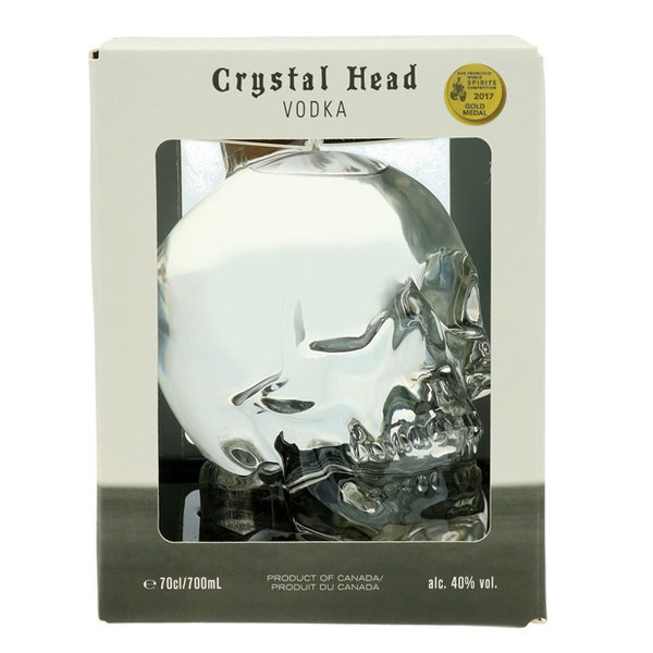 Crystal head Vodka in Gift Box 70CL