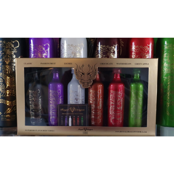 Royal Dragon Mini Set Giftpack 6x50ml Elite Flavours