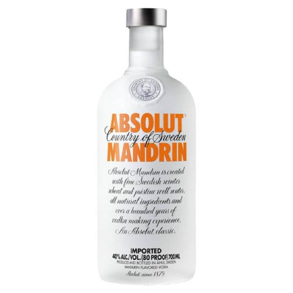 Absolut Mandrin 70CL