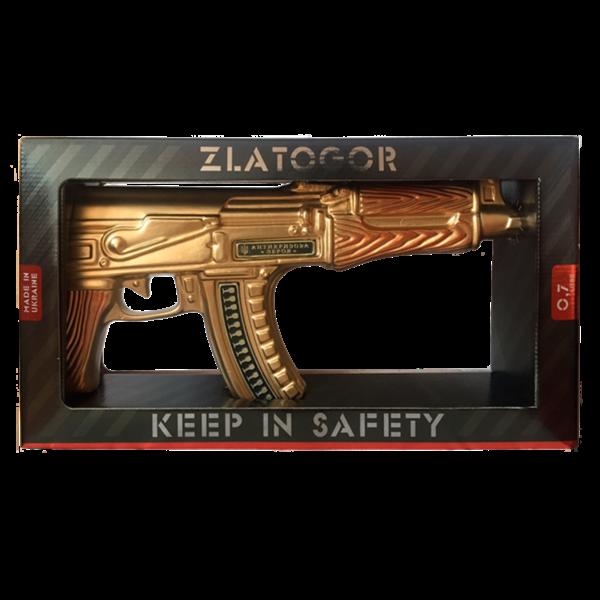 zlatogor zlatogor geweervodka 700 ml gold