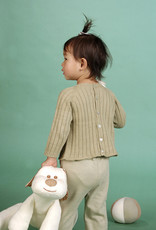 Baby long-sleeved sweater with bag buttons. sizes 12, 18, 24 months.