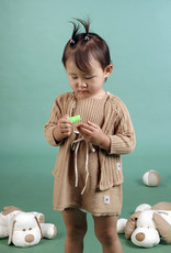 Chaqueta bebé manga larga con botones delante. Tallas 1, 3, 6 meses.