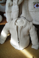 Baby zipper jacket. sizes 1, 3, 6 months.