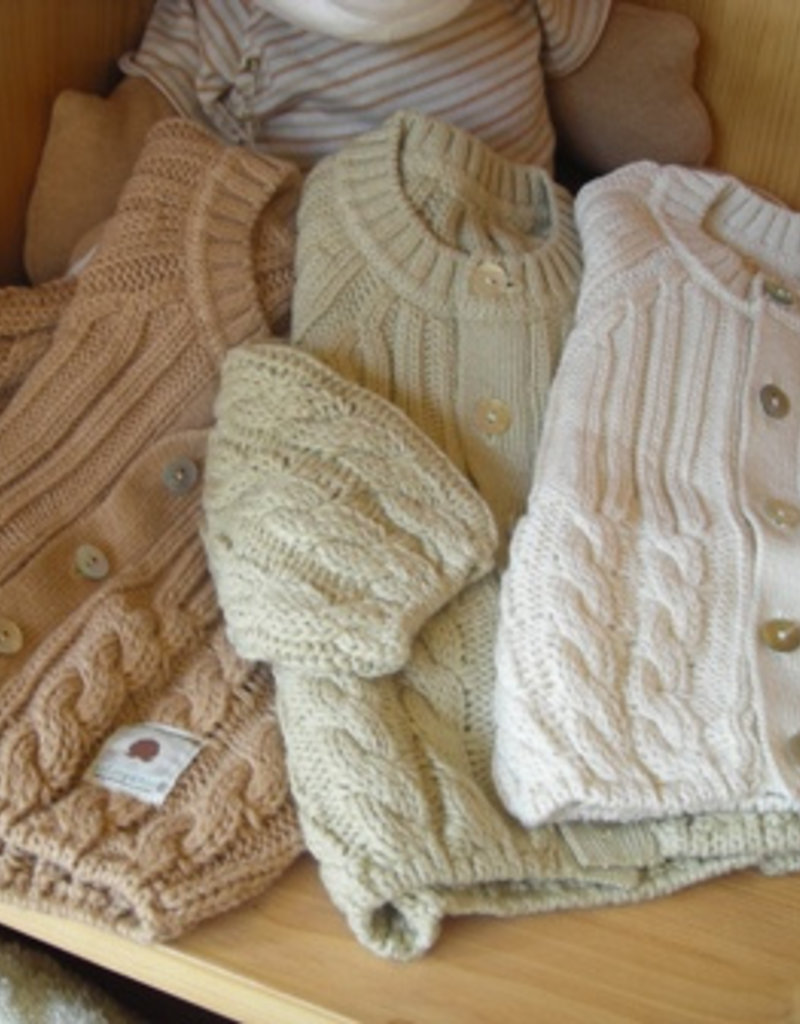 Baby tricot jacket. sizes 1, 3, 6 months.