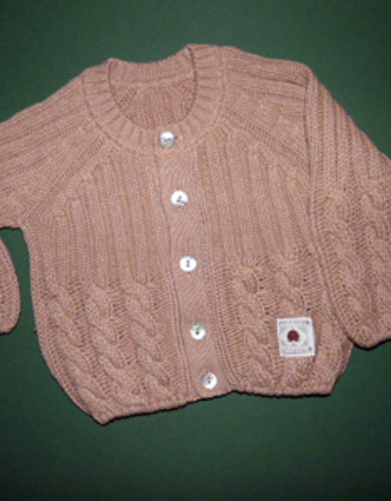 Baby tricot jacket. sizes 12, 18 months.