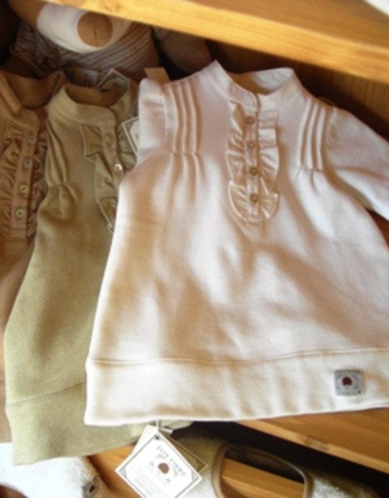 Baby fleece dress. sizes 1, 3, 6 months.