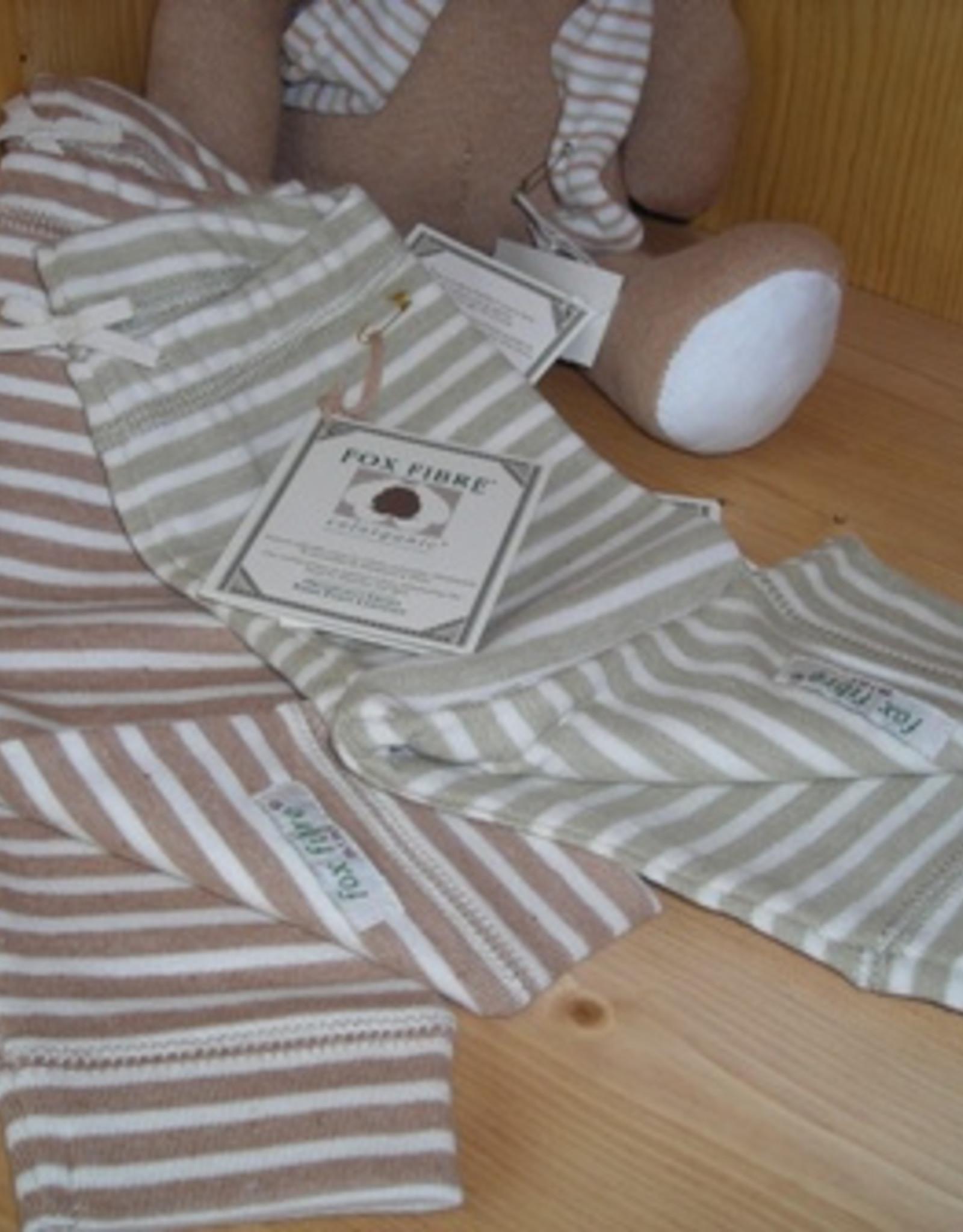 Pantalón malla bebé listado. Tallas 1, 3, 6 meses.