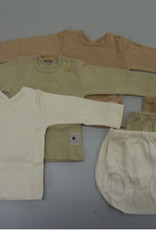 Set for infant with a t-shirt and a diaper. sizes 0, 1, 3, 6 months.