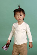Cross baby shirt with long sleeves. sizes 1, 3, 6 months.