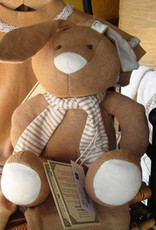 Stuffed rabbit.
