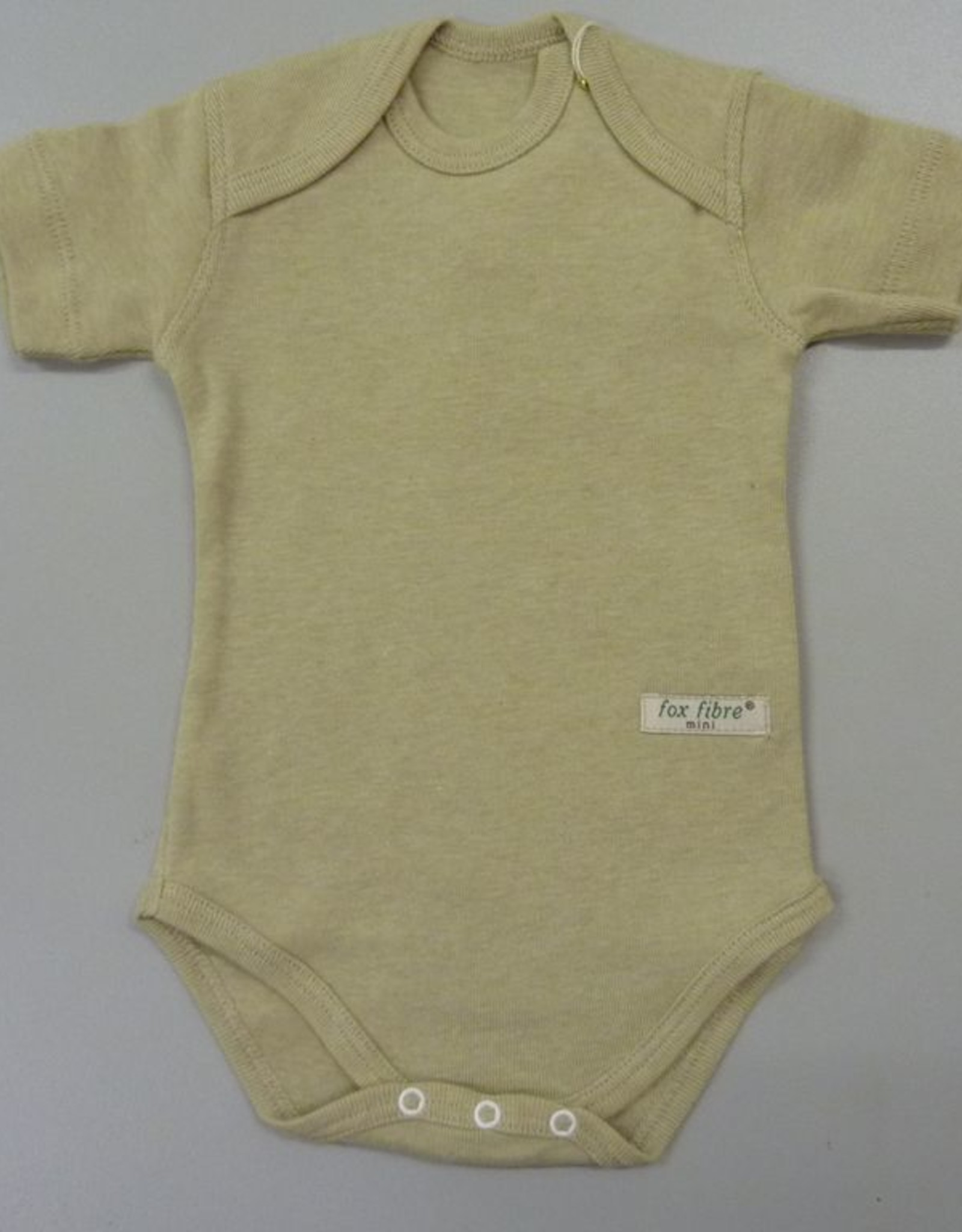 Baby body with short sleeve