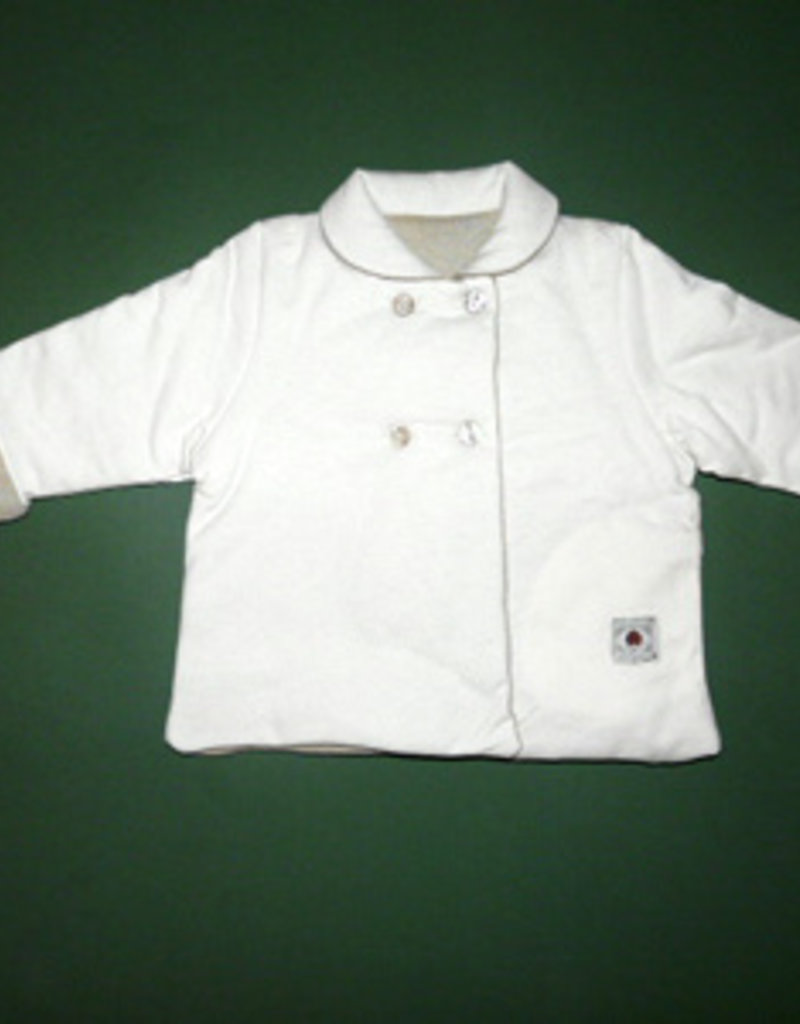 Reversible jacket for baby. sizes 12, 18, 24 months.