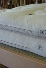 Futon stuffed with 100% organic cotton or natural latex