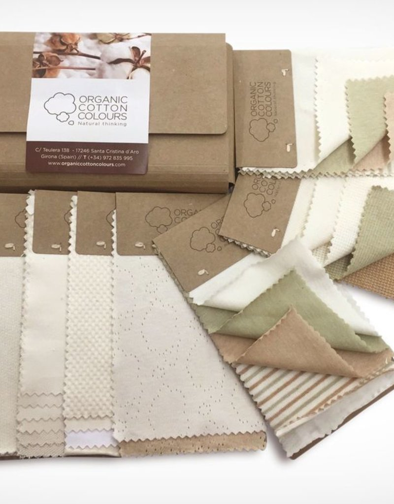 Complete sample book of fabrics