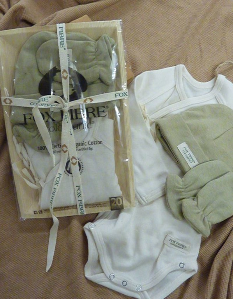 Pack with body and cap and mitten set.