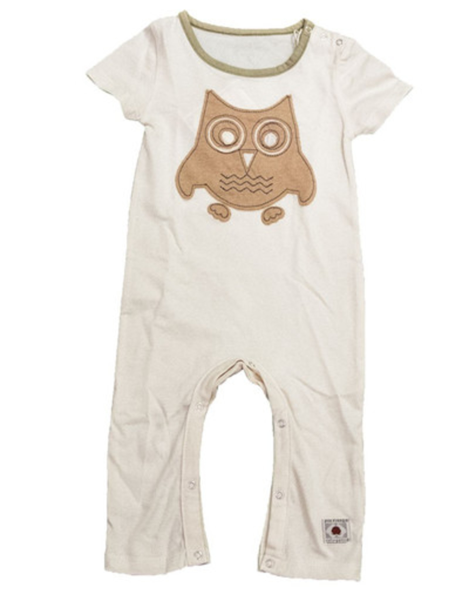 Bubbler with baby owl. sizes 3, 6, 12, 18 months.