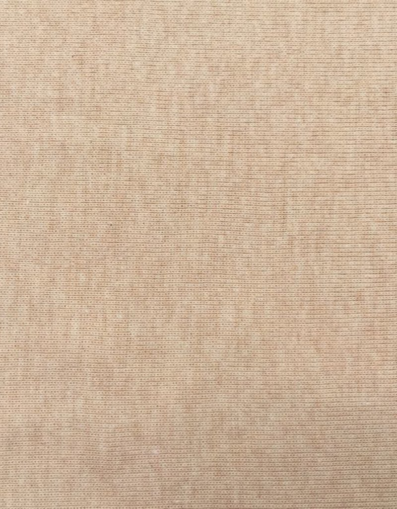 Rib jersey brown OCCGuarantee 200grs.