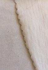 Single jersey ecru 4% elastan OCCGuarantee Essential 175grs.