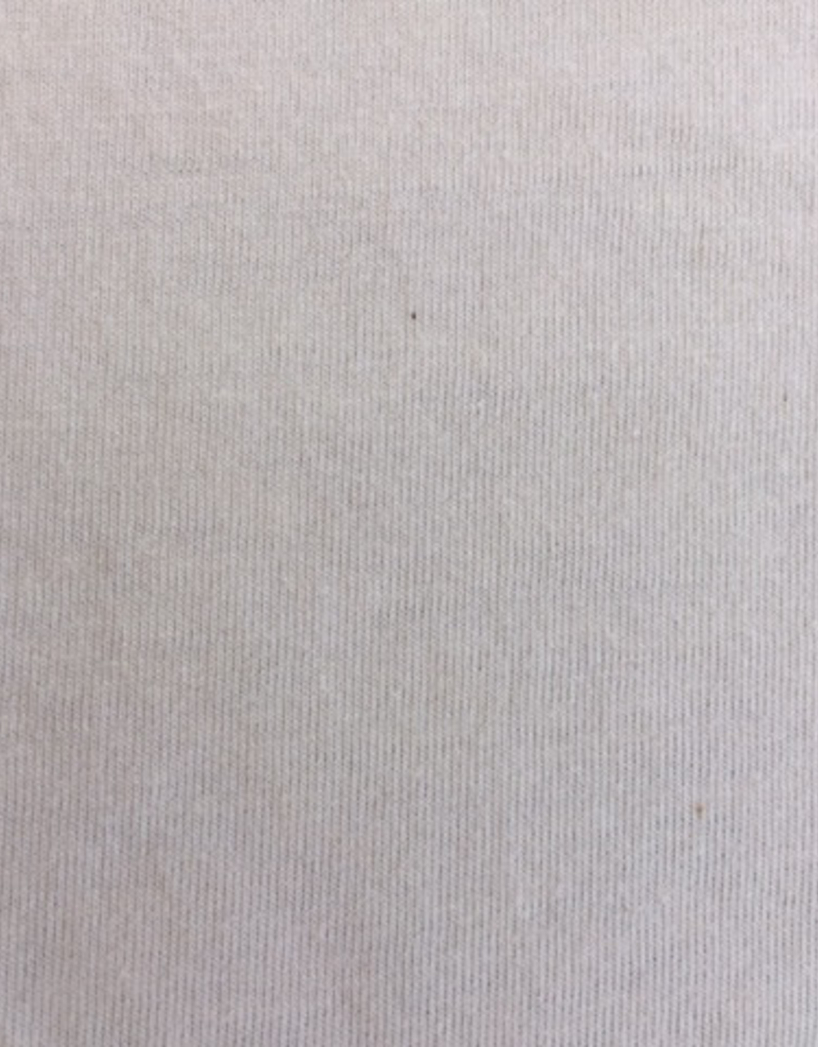single jersey ecru 4% elastan OCCGuarantee  175grs.