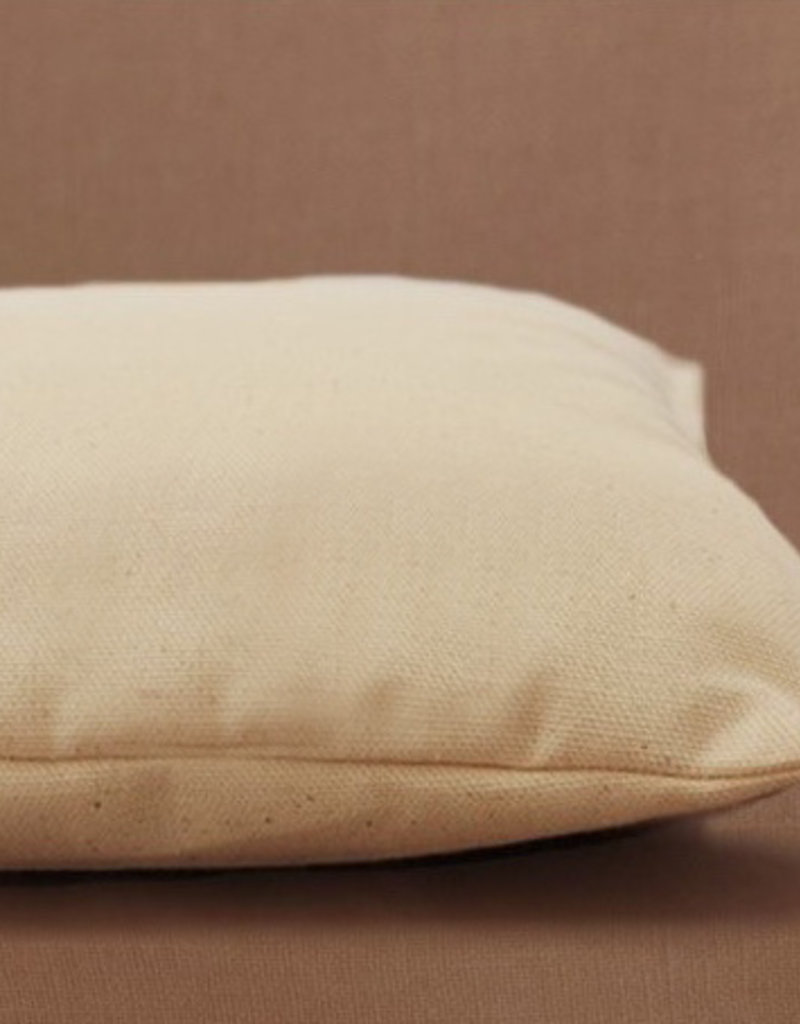 Pillow filled with 100% organic cotton