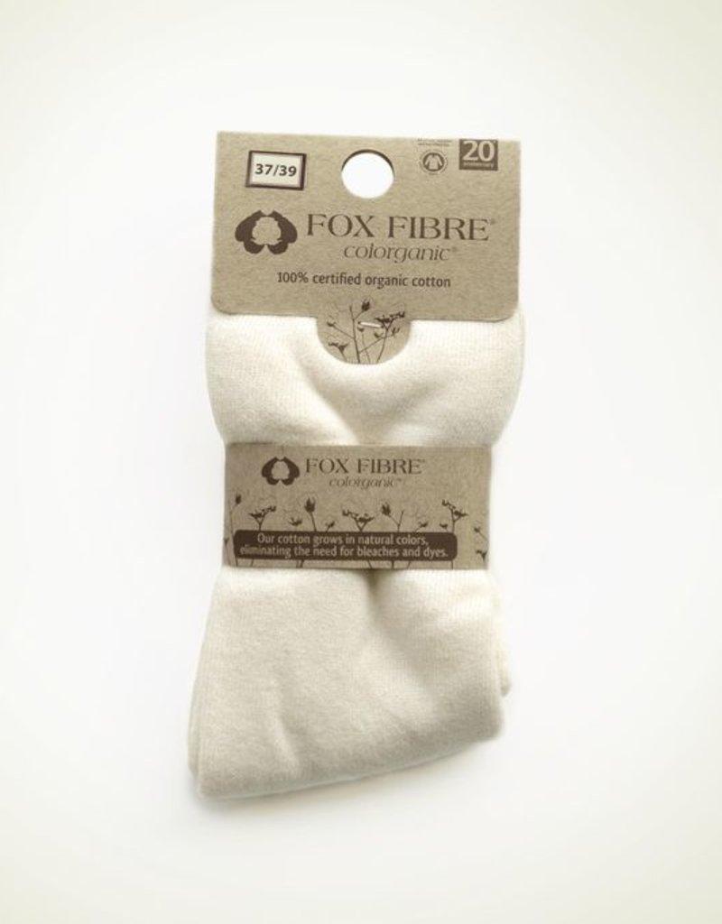 Calcetín rizo con 100% algodón orgánico sin elastano