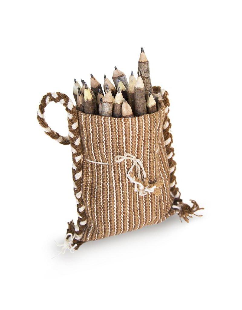 Bag of 25 pencils of graphite