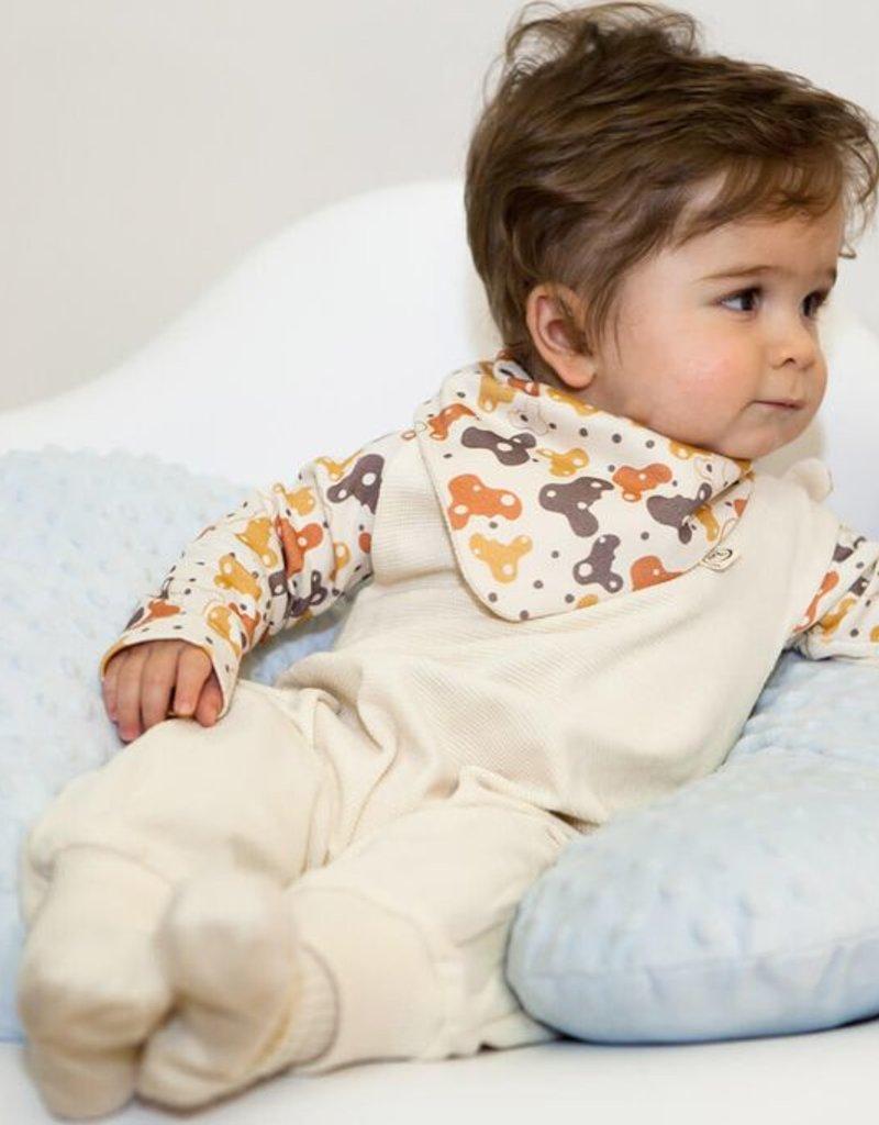 Baby romper reversible unisex