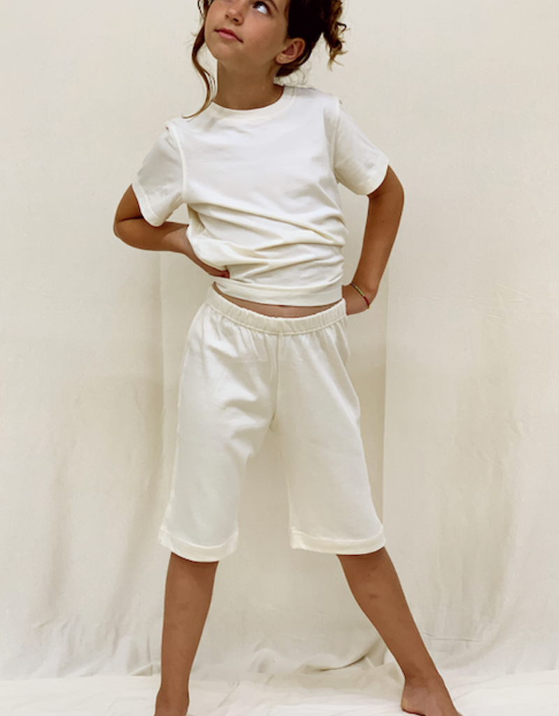 Pocket shorts for junior. sizes 2, 4, 6 years.