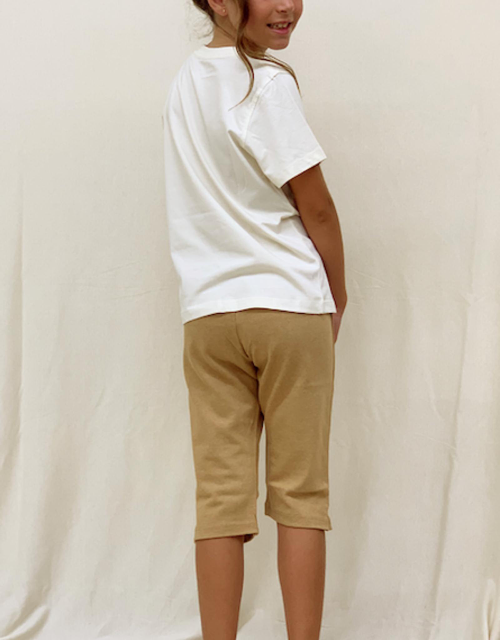 Camiseta junior listada manga corta. Tallas 2, 4, 6 años.