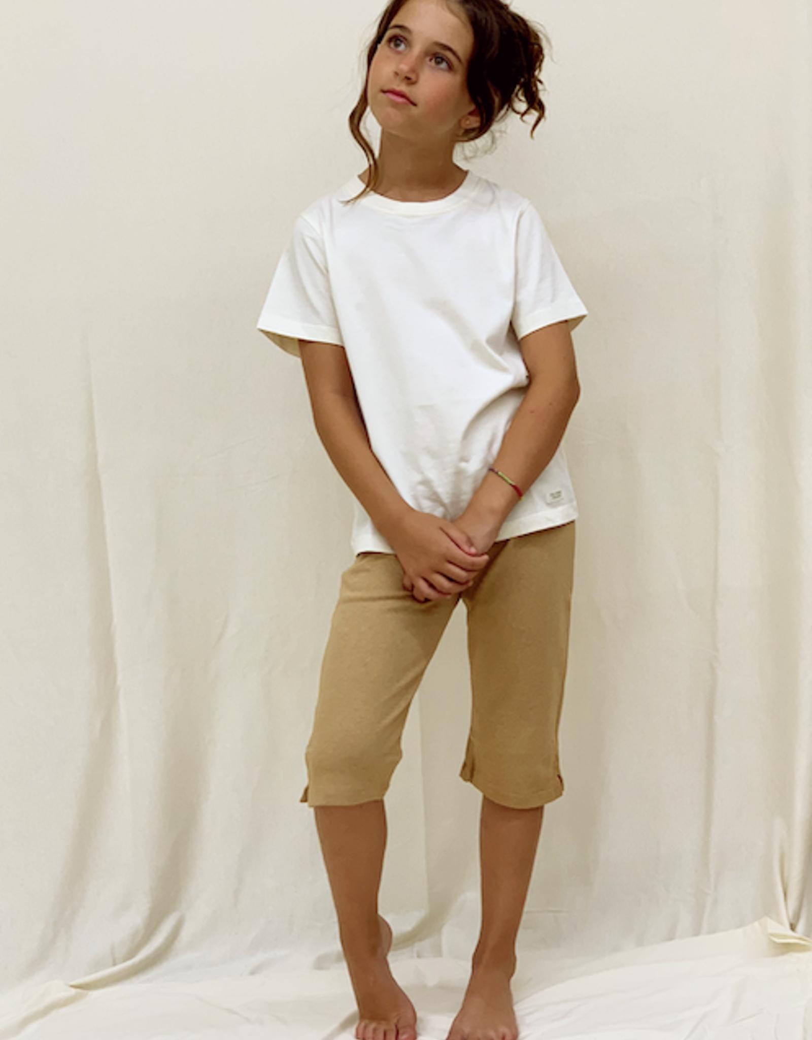 Camiseta junior listada manga corta. Tallas 8, 10, 12 años.
