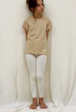 Junior shortsleveed shirt with round neck. sizes 8, 10, 12 years.