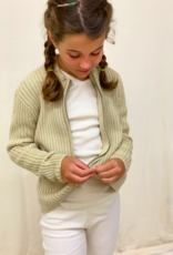 Junior jacket with zipper. sizes 8, 10, 12 years.