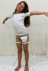 Short junior con bolsillos. Talla 8, 10, 12 años.