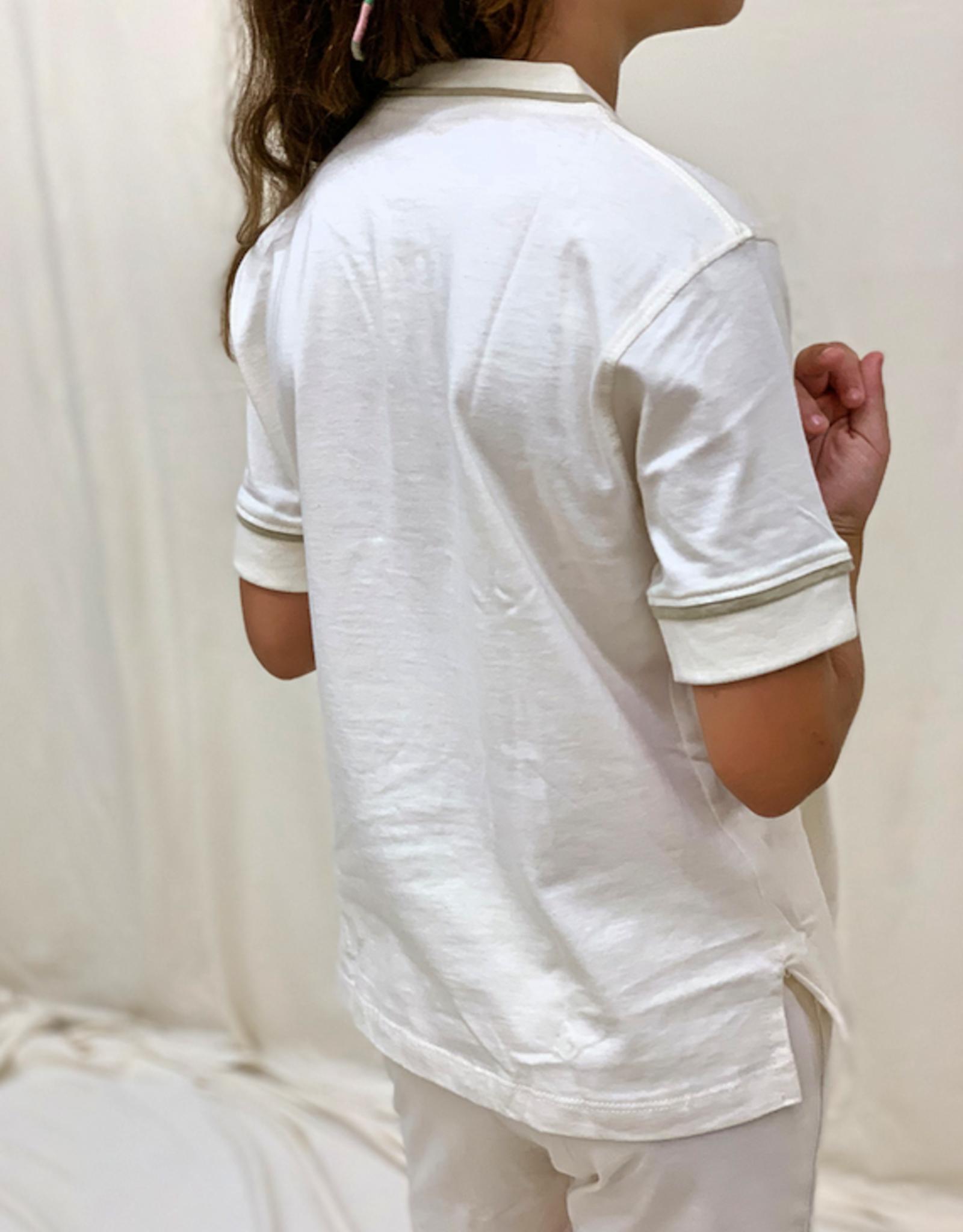 Pijama junior cerrado manga corta. Tallas 2, 4, 6 años.